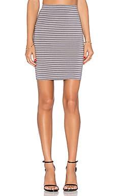 three dots Mini Pencil Skirt in Greystone