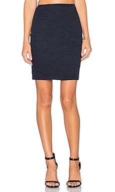 three dots Mackenzie Mini Skirt in Night Iris