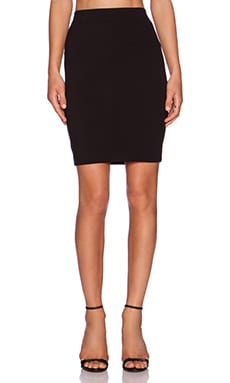 three dots Pencil Skirt in Black