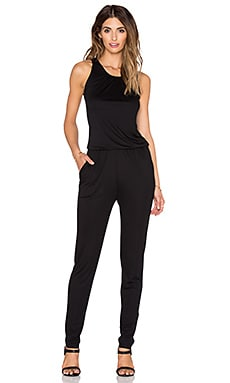three dots Sleeveless Jumpsuit in Black