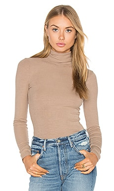 Long Sleeve Turtleneck in Camel