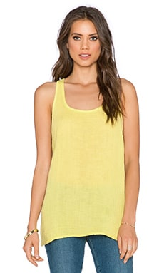 three dots Racerback Tank in Royal Sage