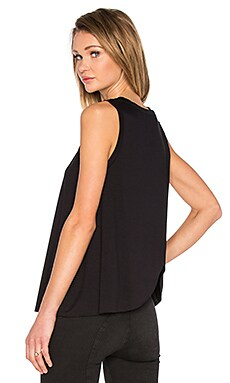 three dots Keiko Tank in Black