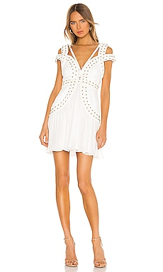 X REVOLVE Mood Crest Mini Dress THURLEY $325