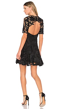 Hollyhock Mini Dress in Black