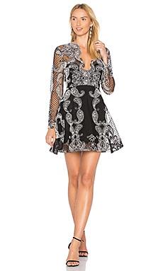 Купить Платье paisley princess - THURLEY, Коктейльное, Китай, Черный