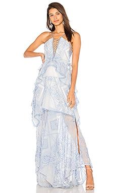 Купить Макси платье positano princess - THURLEY, Кружево, Австралия, Синий