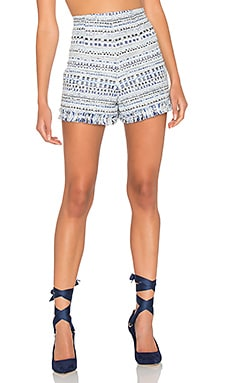 Blue Lagoon Tweed Short in Multi