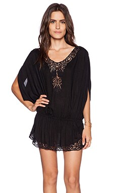 Tiare Hawaii Harlem Mini Dress in Black