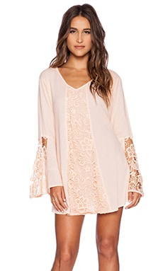 Tiare Hawaii Vagabond Dress in Peach