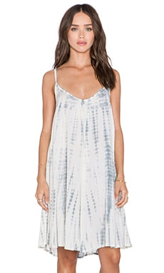 Tiare Hawaii Luau Dress in Cream & Sabia Tie Dye