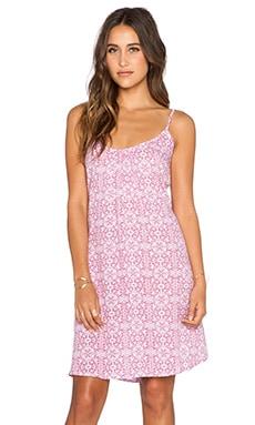 Tiare Hawaii Luau Dress in Pink Graphic