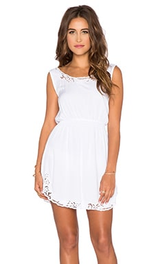 Tiare Hawaii Cornwall Mini Dress in White
