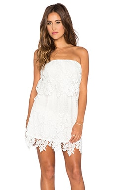 Tiare Hawaii Devon Mini Dress in Cream