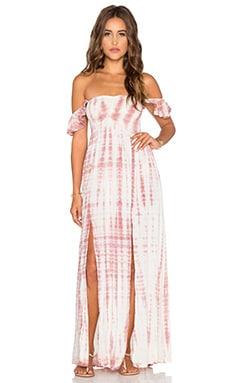 Tiare Hawaii Hollie Maxi Dress in Cream & Skin Sabia