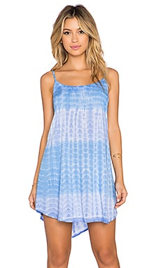 Tiare Hawaii Skye Mini Dress in Mermaid, Violet & Blue
