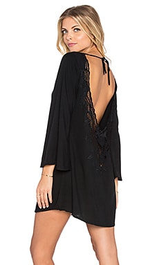 Tiare Hawaii Ireland Dress in Black