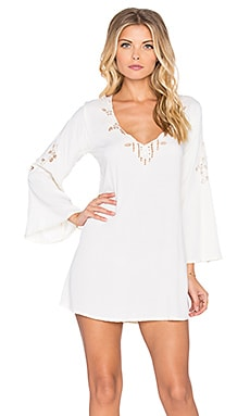 Tiare Hawaii Rangiroa Dress in Cream