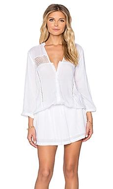 Tiare Hawaii Skipper Dress in White