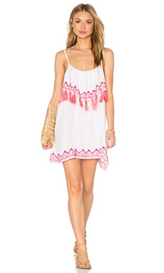 Tiare Hawaii Holter Dress in White