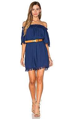 Tiare Hawaii Iris Dress in Navy