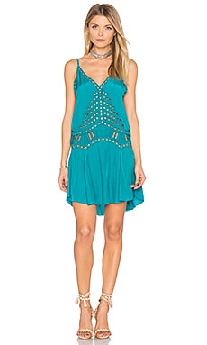Soho Dress en Forest Green