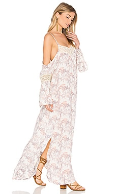 Zella Maxi in Palm Cream