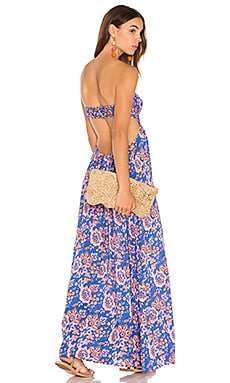 Kalani Maxi in Folk Bright Blue