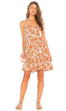 Фото - Мини платье channing - Tiare Hawaii оранжевого цвета