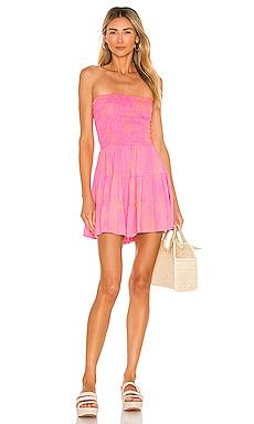 Strawberry Wine Dress Tiare Hawaii $85