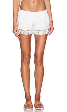 Tiare Hawaii Daisy Shorts in White