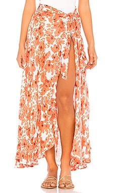 Azure Wrap Skirt Tiare Hawaii $150