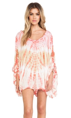 Banyans Romper in Orange & Skin Vibe