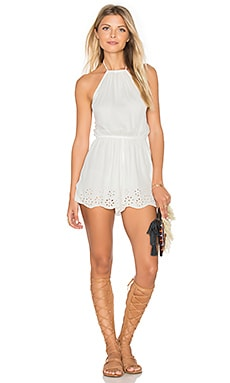 Tiare Hawaii Amalie Jumpsuit in Off White