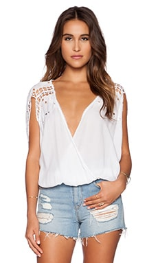 Tiare Hawaii Krawang Top in White