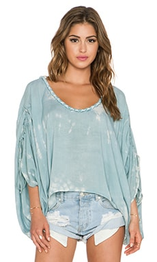 Tiare Hawaii Banyans Top in Grey & Cream Sabia