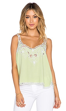 Tiare Hawaii Mia Tank in Mint & White