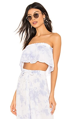 TOP CROPPED FLUTTER Tiare Hawaii $48