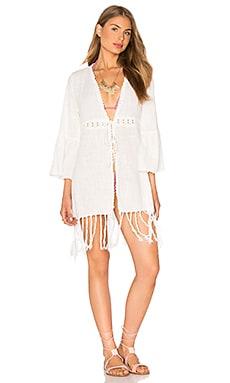 Tiare Hawaii Palma Kimono in Off White
