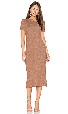 Marcel Dress in Rose Gold
