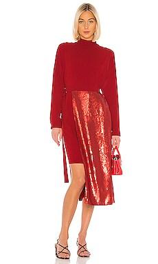 Triacetate Sequin Paneled Dress Tibi $171 (FINAL SALE)