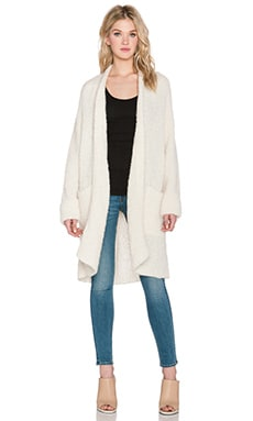 Tibi Oversized Cardigan in Ivory