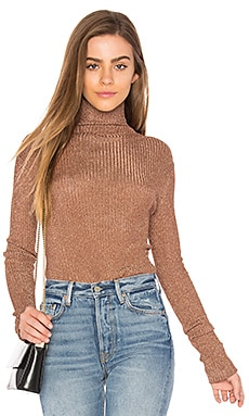 Turtleneck in Rose Gold