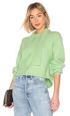 Tie Collar Pullover Sweater Tibi $425