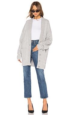 Oversized Cashmere Cardigan Coat Tibi $995