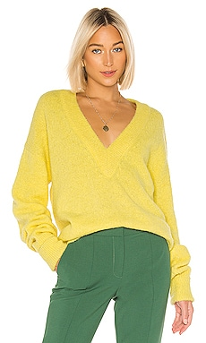 Airy Alpaca V Neck Pullover Tibi $395 Collections