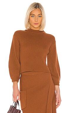 Merino Rib Pullover Tibi $395