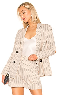 Tropical Suiting Blazer Tibi $251 Collections