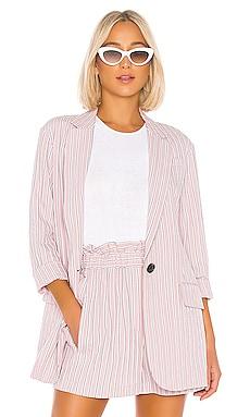 Stripe Viscose Twill Oversized Blazer Tibi $650 MÁS VENDIDO
