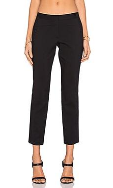 Tibi Daria Skinny Pant in Black